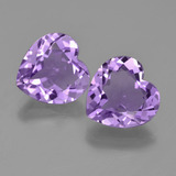 thumb image of 6ct Heart Facet Violet Amethyst (ID: 454696)