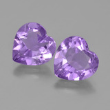 thumb image of 5.9ct Heart Facet Violet Amethyst (ID: 454699)