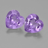 thumb image of 5.9ct Heart Facet Violet Amethyst (ID: 454702)