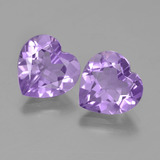 thumb image of 6ct Heart Facet Violet Amethyst (ID: 454703)