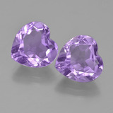 thumb image of 6.5ct Heart Facet Violet Amethyst (ID: 454704)