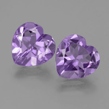thumb image of 5.6ct Heart Facet Violet Amethyst (ID: 454822)