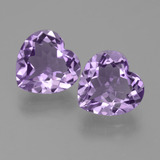 thumb image of 6ct Heart Facet Violet Amethyst (ID: 454824)