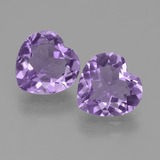 thumb image of 5.4ct Heart Facet Violet Amethyst (ID: 454826)