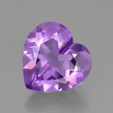 thumb image of 2.9ct Heart Facet Violet Amethyst (ID: 454887)