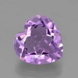thumb image of 3.1ct Heart Facet Violet Amethyst (ID: 454890)
