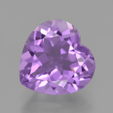 thumb image of 3ct Heart Facet Violet Amethyst (ID: 454892)