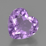 thumb image of 3.2ct Heart Facet Violet Amethyst (ID: 454893)