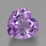 thumb image of 3.5ct Heart Facet Violet Amethyst (ID: 454895)