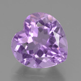 thumb image of 3.2ct Heart Facet Violet Amethyst (ID: 455017)