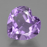 thumb image of 3.1ct Heart Facet Violet Amethyst (ID: 455214)