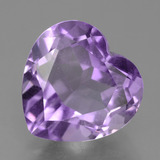 thumb image of 3.1ct Heart Facet Violet Amethyst (ID: 455220)