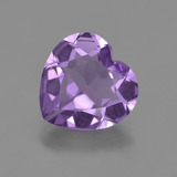 thumb image of 2.4ct Heart Facet Violet Amethyst (ID: 455332)