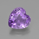 thumb image of 3.2ct Heart Facet Violet Amethyst (ID: 455335)
