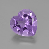 thumb image of 2.9ct Heart Facet Violet Amethyst (ID: 455339)