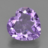 thumb image of 2.9ct Heart Facet Violet Amethyst (ID: 455456)