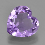 thumb image of 3ct Heart Facet Violet Amethyst (ID: 455460)