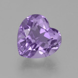 thumb image of 3.6ct Heart Facet Violet Amethyst (ID: 455643)