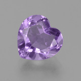 thumb image of 3.1ct Heart Facet Violet Amethyst (ID: 455646)