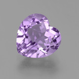 thumb image of 3.3ct Heart Facet Violet Amethyst (ID: 455651)
