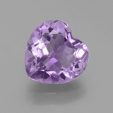 thumb image of 3.1ct Heart Facet Violet Amethyst (ID: 455652)