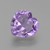 thumb image of 3ct Heart Facet Violet Amethyst (ID: 455653)