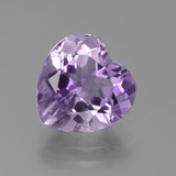 thumb image of 3.2ct Heart Facet Violet Amethyst (ID: 455837)