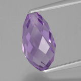 thumb image of 2.8ct Half-Drilled Briolette Violet Amethyst (ID: 456835)