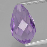 thumb image of 3.8ct Half-Drilled Briolette Violet Amethyst (ID: 456838)
