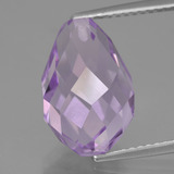 thumb image of 7.6ct Half-Drilled Briolette Violet Amethyst (ID: 456917)