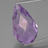 thumb image of 13.8ct Half-Drilled Briolette Violet Amethyst (ID: 456919)