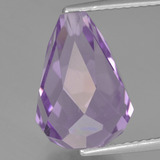 thumb image of 7.4ct Half-Drilled Briolette Violet Amethyst (ID: 456979)