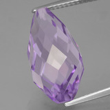 thumb image of 9.2ct Half-Drilled Briolette Violet Amethyst (ID: 456986)