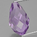 thumb image of 3.8ct Half-Drilled Briolette Violet Amethyst (ID: 457032)