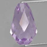 thumb image of 3.9ct Half-Drilled Briolette Violet Amethyst (ID: 457034)