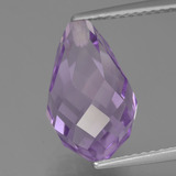 thumb image of 5.6ct Biolette medio perforado Violeta medio Amatista (ID: 457127)