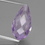 thumb image of 6.4ct Half-Drilled Briolette Violet Amethyst (ID: 457156)