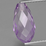 thumb image of 3.2ct Half-Drilled Briolette Violet Amethyst (ID: 457242)