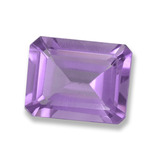 thumb image of 2.1ct Octagon Step Cut Violet Amethyst (ID: 457789)