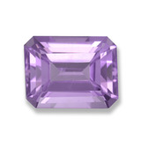 thumb image of 2.5ct Octagon Step Cut Violet Amethyst (ID: 457792)
