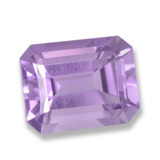 thumb image of 2.6ct Octagon Step Cut Violet Amethyst (ID: 457795)