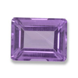 thumb image of 2.3ct Octagon Step Cut Violet Amethyst (ID: 457796)