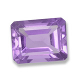 thumb image of 2.2ct Octagon Step Cut Violet Amethyst (ID: 457799)
