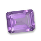 thumb image of 2.2ct Octagon Step Cut Violet Amethyst (ID: 457824)