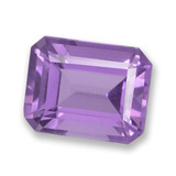 thumb image of 2.4ct Octagon Step Cut Violet Amethyst (ID: 457827)