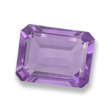 thumb image of 1.8ct Octagon Step Cut Violet Amethyst (ID: 457832)