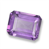 thumb image of 1.8ct Octagon Step Cut Violet Amethyst (ID: 457834)