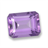 thumb image of 2.3ct Octagon Step Cut Violet Amethyst (ID: 457835)