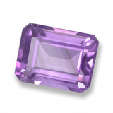 thumb image of 2.4ct Octagon Step Cut Violet Amethyst (ID: 457873)