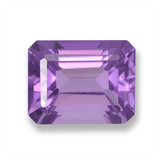 thumb image of 2.4ct Octagon Step Cut Violet Amethyst (ID: 457874)